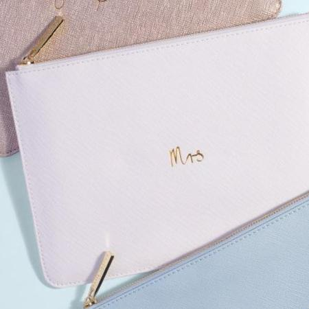 Mrs. Perfect Pouch - Bride/Mrs. Apparel