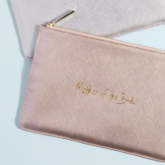 Mother of the Bride Metallic Perfect Pouch