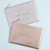 Mother of the Groom Metallic Perfect Pouch