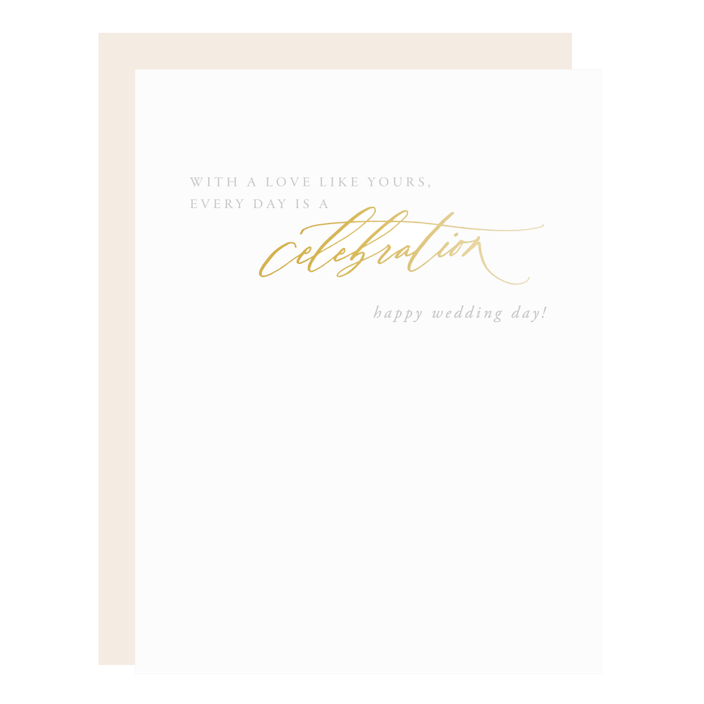 Every Day is a Celebration Card