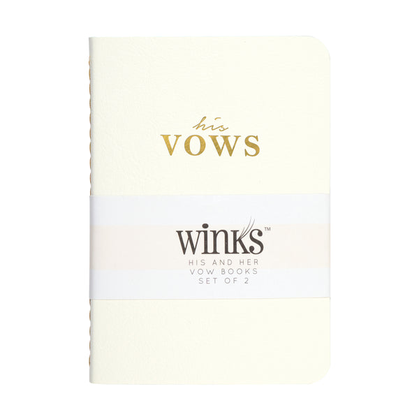 Vows Mini Notebook Set