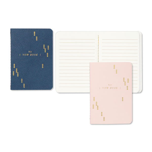 Today & Toujours Mini Vow Notebook Set CR Gibson - Cork Collection