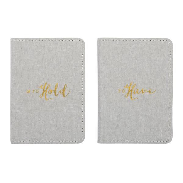 To Have & To Hold Mini Vows Notebook Set