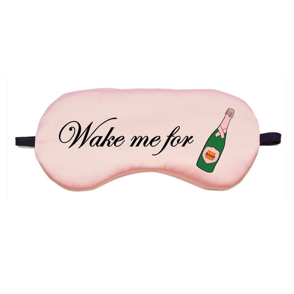 Champagne Eye Mask