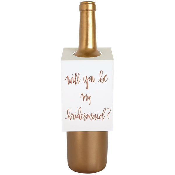 Bridesmaid Wine & Spirit Tag By Chez Gagne Chez Gagne - Cork Collection