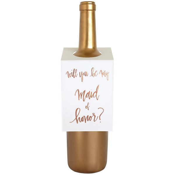 Maid of Honor Wine & Spirit Tag By Chez Gagne