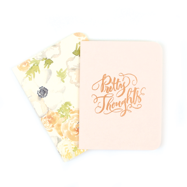 Blush & Floral Notebook Set