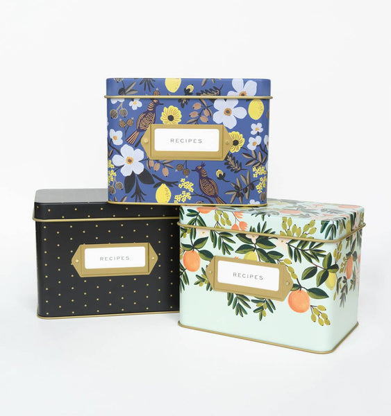 Recipe Boxes Rifle Paper Co. - Cork Collection