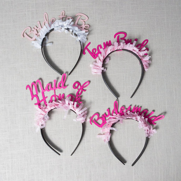 Bridal Headband Pack Bracket - Cork Collection