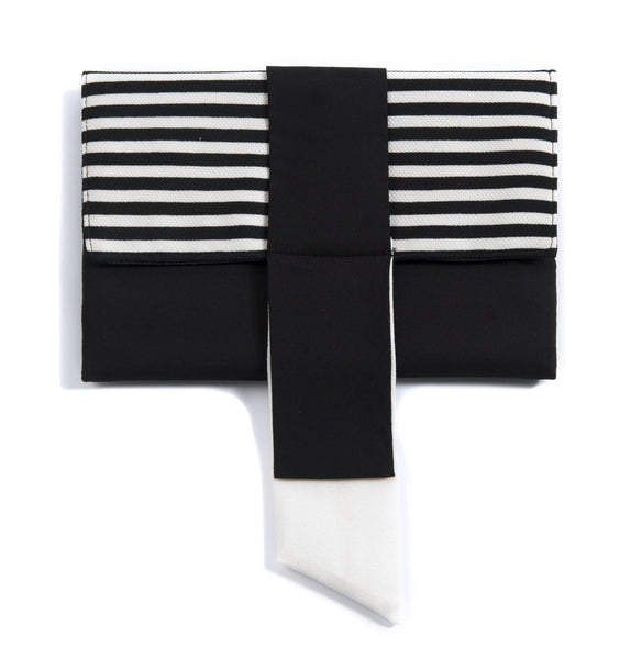 Darcy Ribbon Clutch Shiraleah - Cork Collection