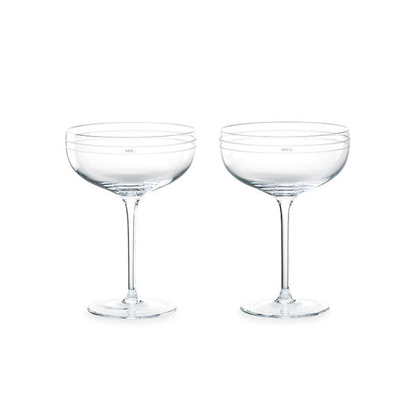 Darling Point Champagne Saucers