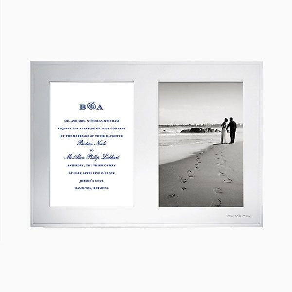 Double Invitation Frame Kate Spade - Cork Collection