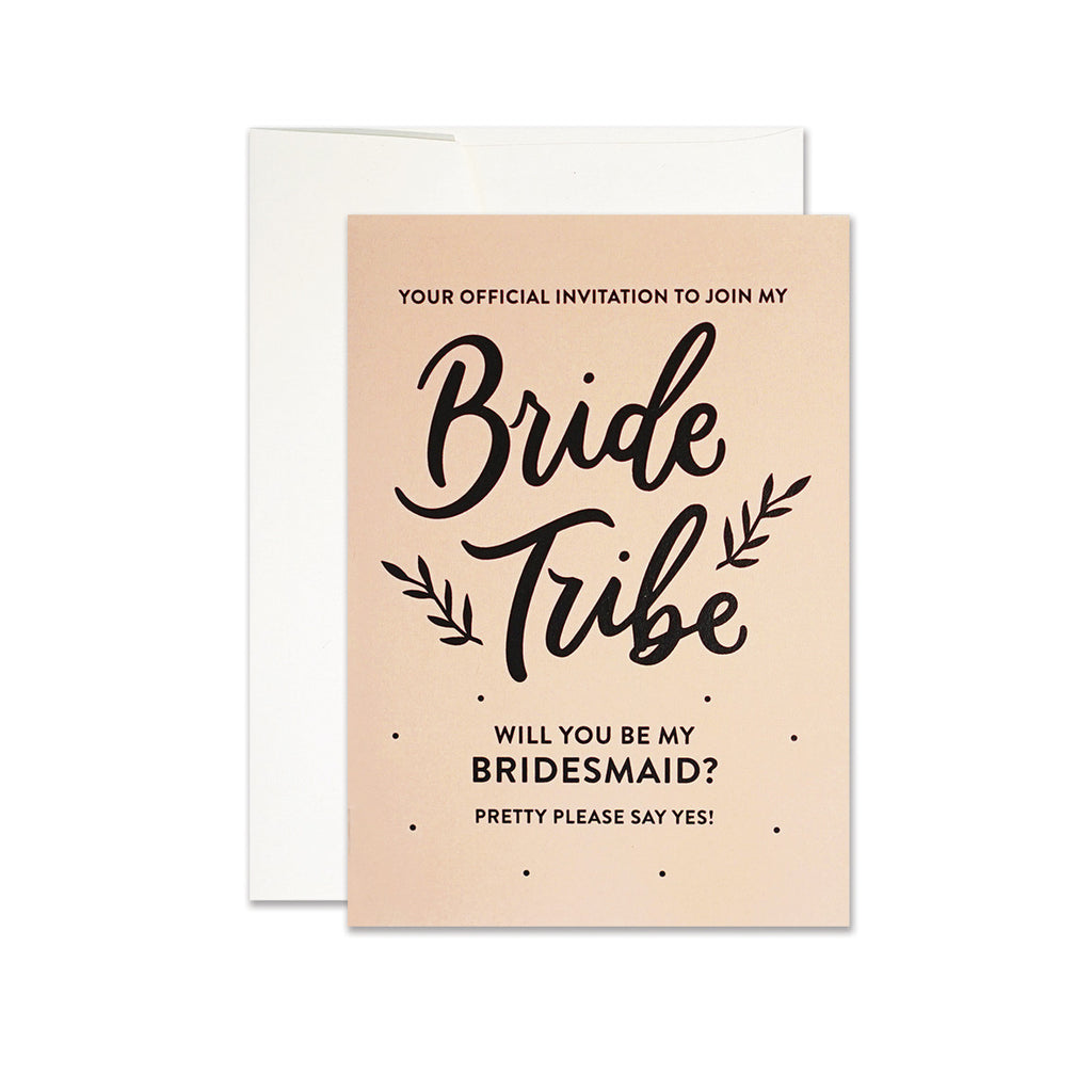 Join My Bride Tribe Card Frankie's Girl - Cork Collection
