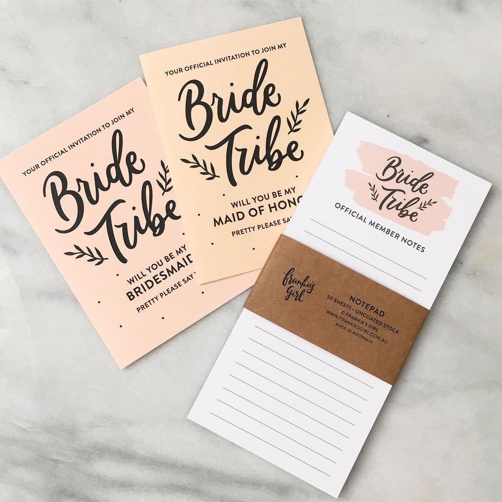 Bride Tribe Notepad