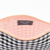 Black and White Gingham Pouch