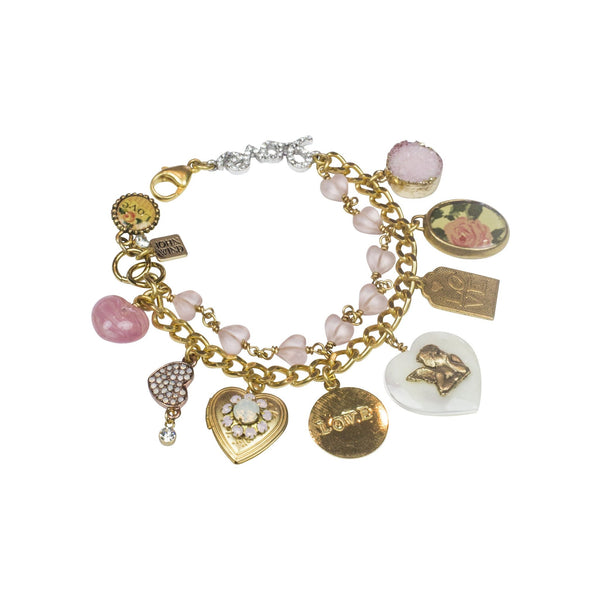 Love Charm Bracelet John Wind | Modern Vintage - Cork Collection