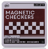 Classic Games Magnetic Checkers NPW London - Cork Collection