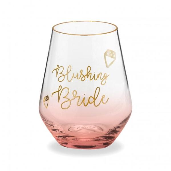Blushing Bride Wine Glass Rosanna - Cork Collection