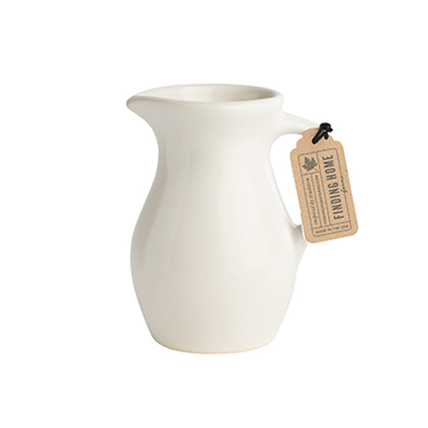 Decorative Ceramic Syrup Pitcher