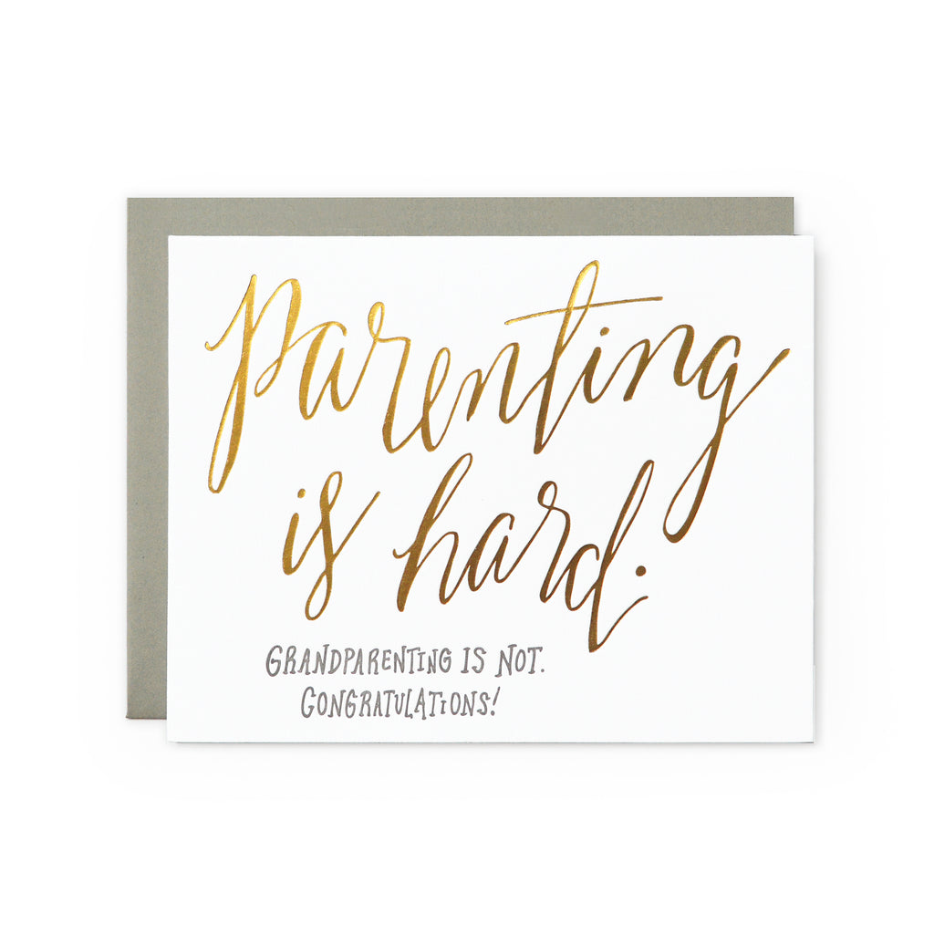 Grandparenting Card Wild Ink Press - Cork Collection