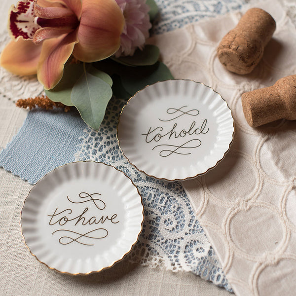 To Have & To Hold Ring Dishes
