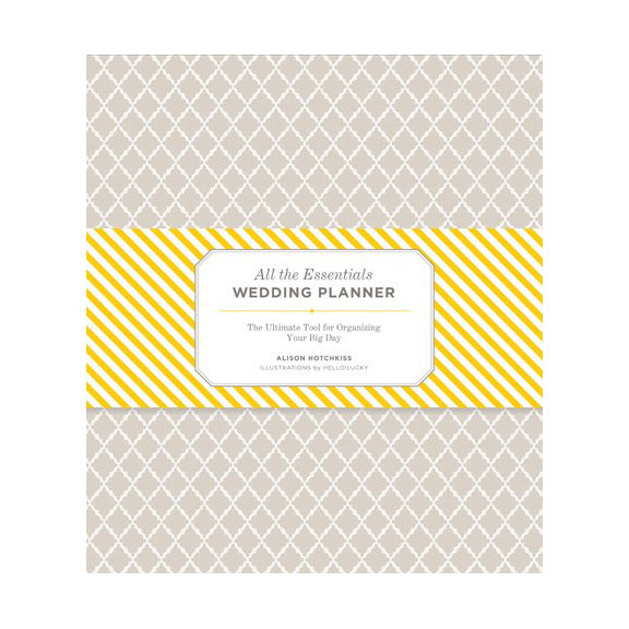 All the Essentials Wedding Planner Chronicle Books - Cork Collection