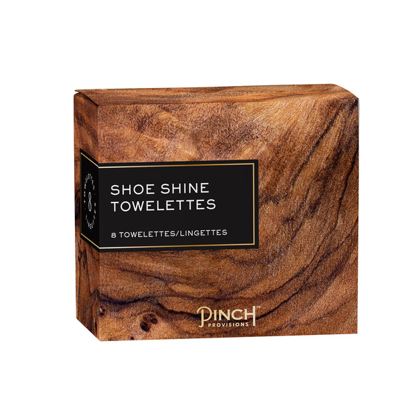 Shoe Shine Towelettes Pinch Provisions - Cork Collection