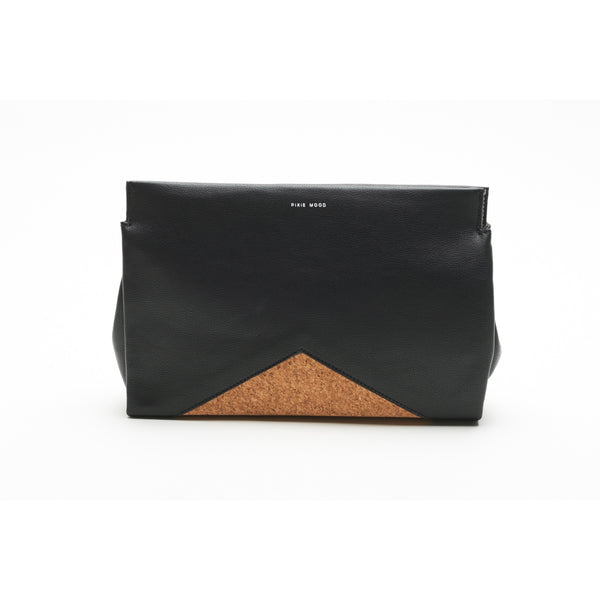 Black & Cork Clutch