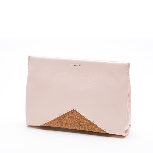 Blush & Cork Clutch