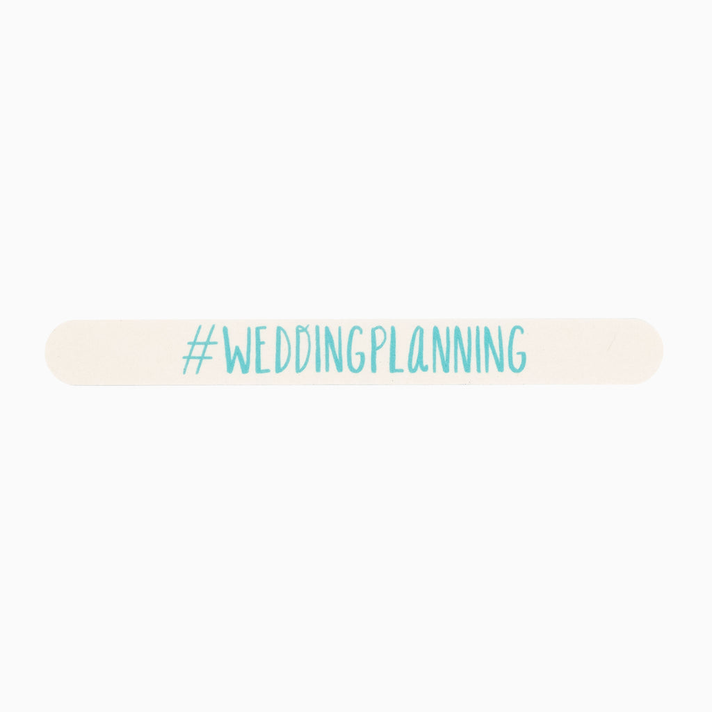 #Weddingplanning Nail File