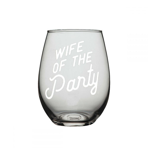Wife wine glass