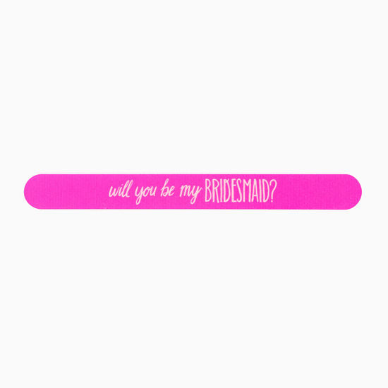 Will You Be My Bridesmaid? Nail File