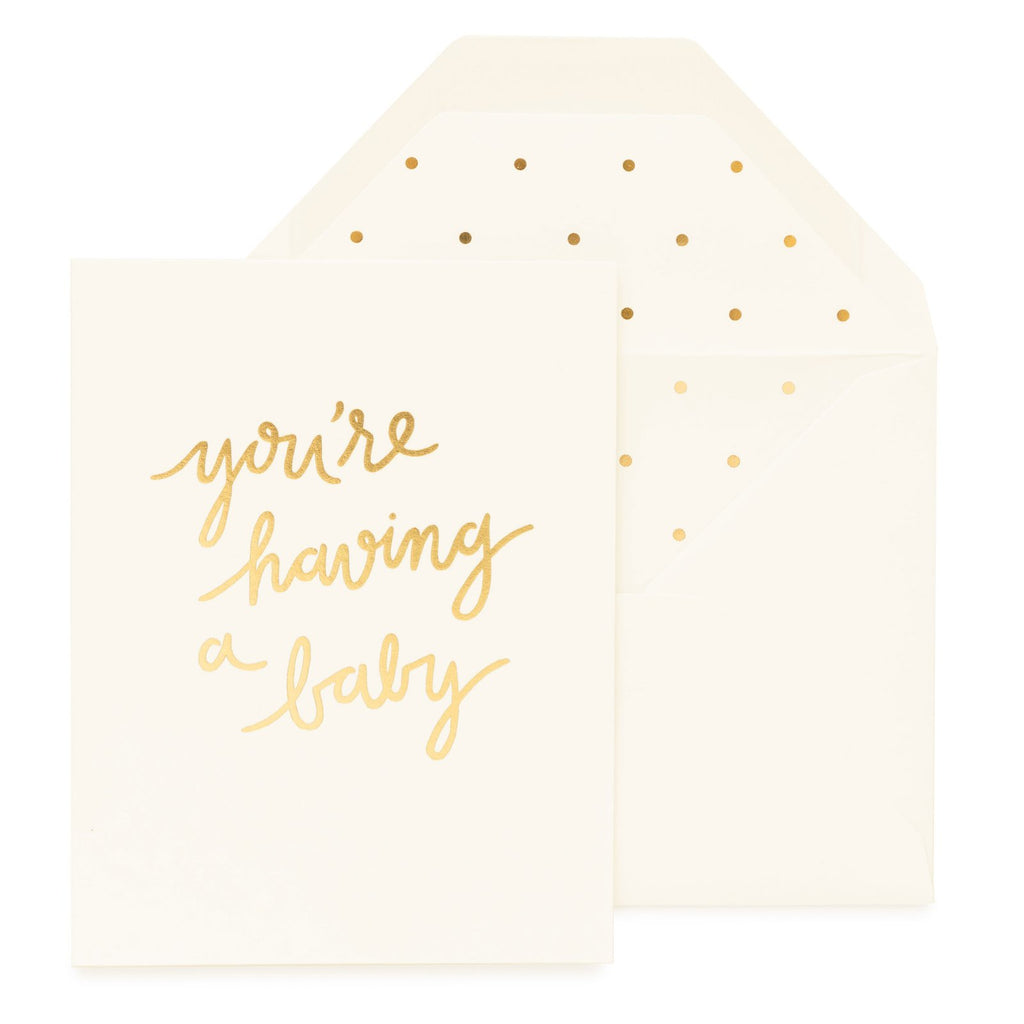 You're Having A Baby Card Sugarpaper - Cork Collection
