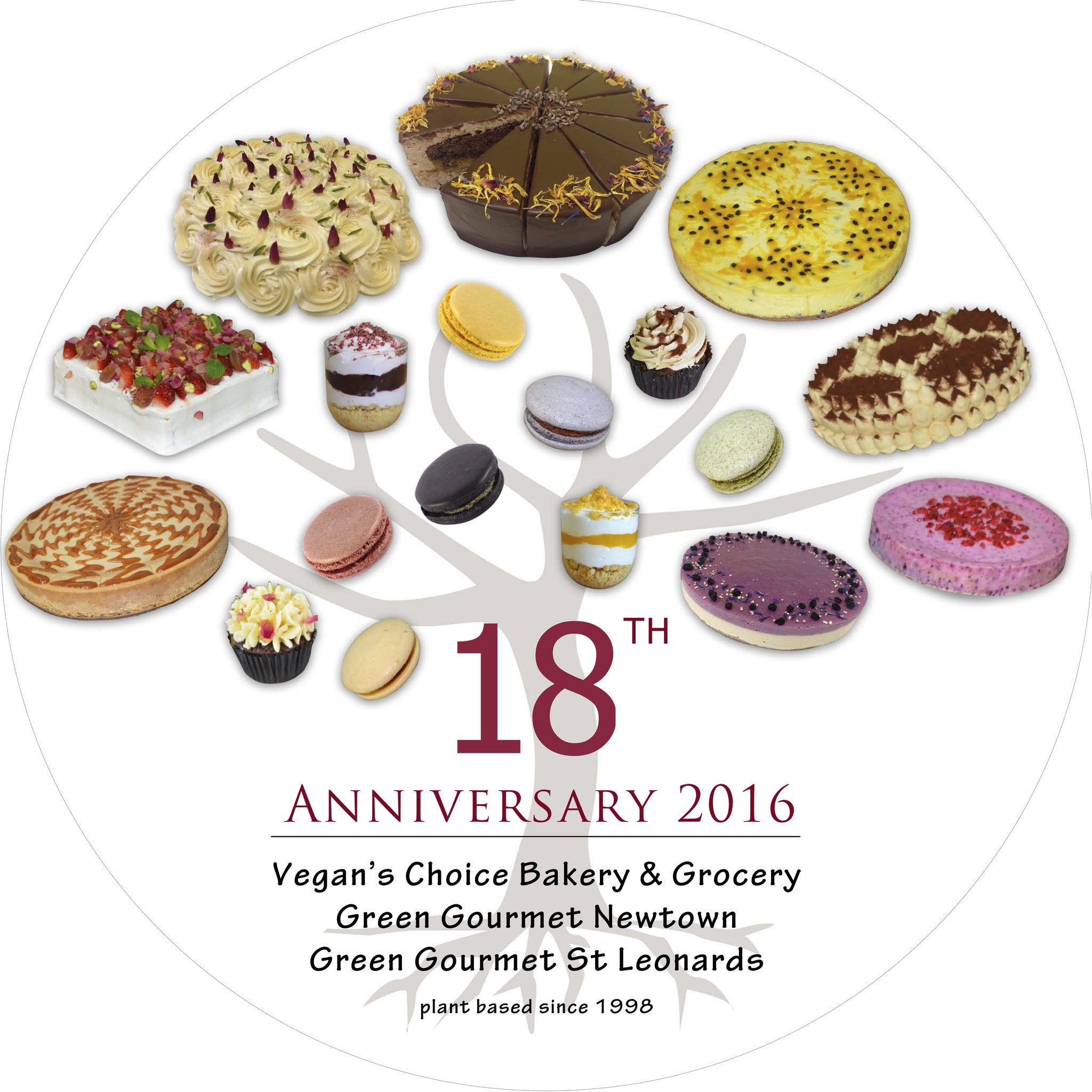 Celebrating 18 years of Green Gourmet