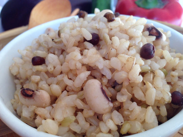 Sprouted 5-Grain Rice at Green Gourmet is TOTALLY Gluten-free