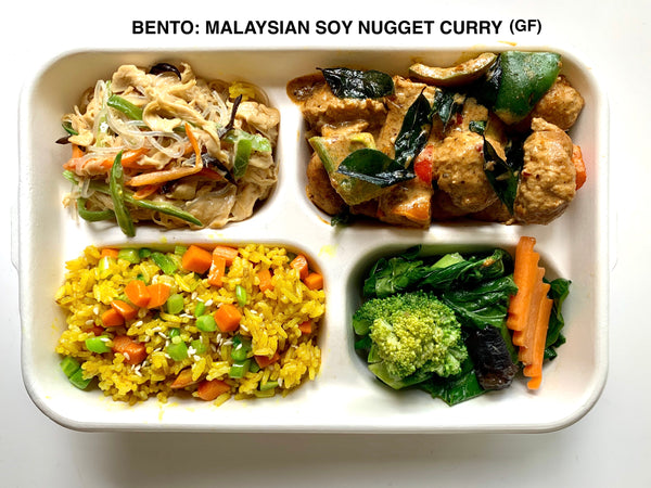 Bento Box Deal - Add 4 of these Bento Boxes to your cart to receive FREE 6 BBQ 'Pork' buns