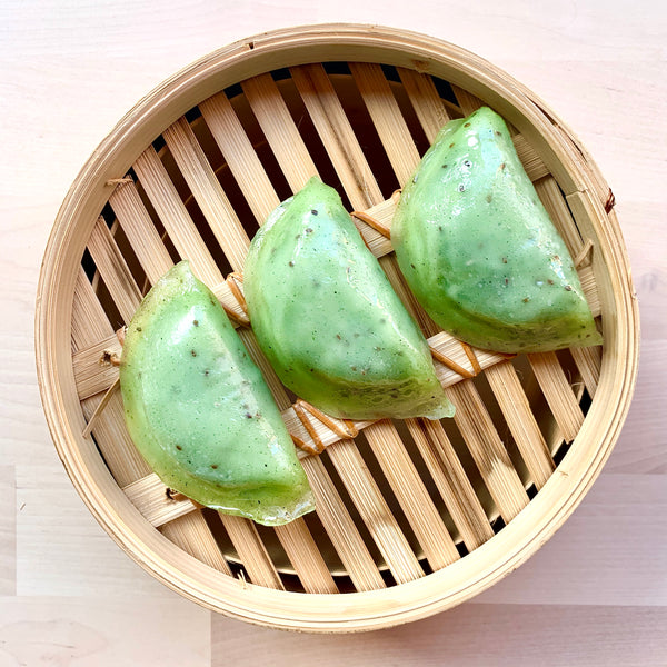 Batch Crafted Spinach Chia Dumplings 9 pcs