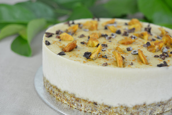 Banana Cream Pie Raw Cake (RAW, GF, RSF)