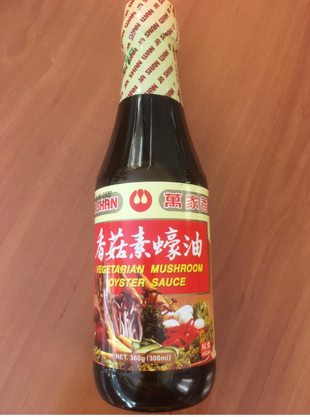 Wan Ja Shan Vegetarian Mushroom Oyster Sauce 360g Net Weight