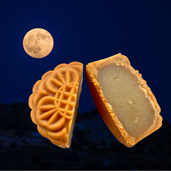 Limited Time Only: Handcrafted Baked Vegan Mooncake with Lotus Seed Paste