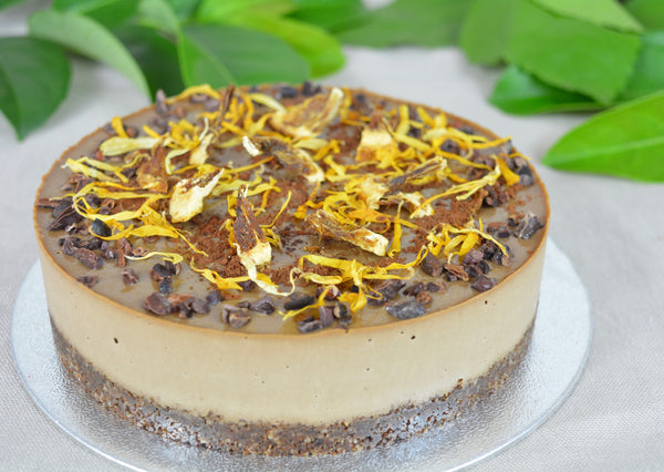 RAW Jaffa Cheesecake (RAW, GF, RSF)