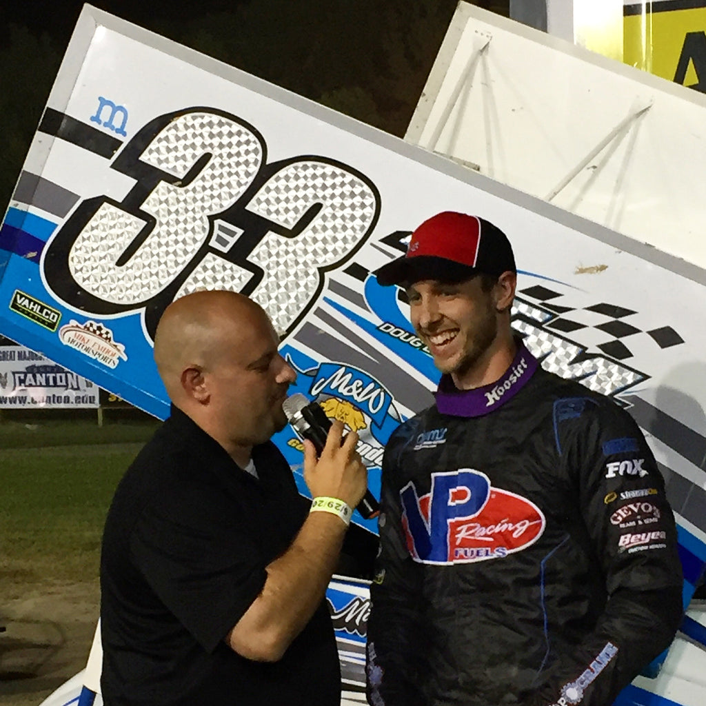 MIKE MAHANEY TAMES THE DEMON; EARNS ESS CNY SPEEDWEEK NIGHT 1 VICTORY - DTD