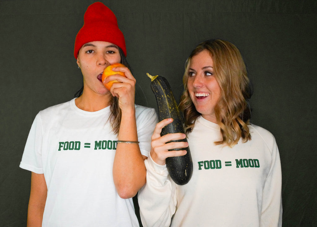 Food = Mood Sweatshirt