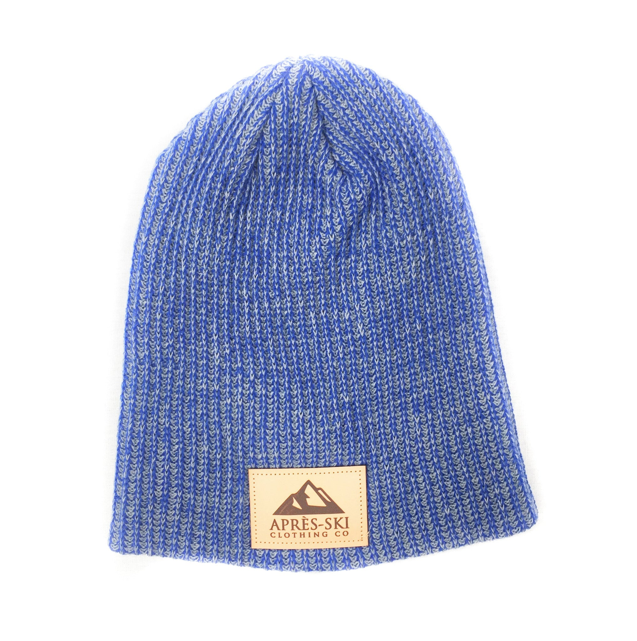 86971a65cef58 Big Mountain Heathered Royal Beanie - Apres Ski Clothing Co