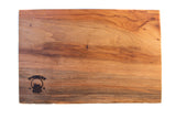 Live-Edge Pecan Cutting Board: Small