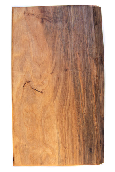 Live-Edge Pecan Cutting Board: Medium