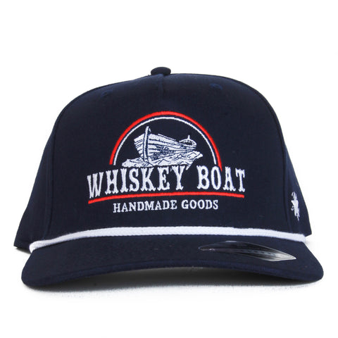 Red, White, & Blue Rope Hat