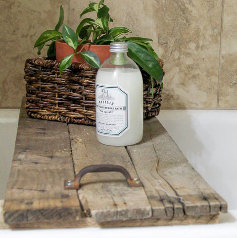 Reclaimed Tub Caddy