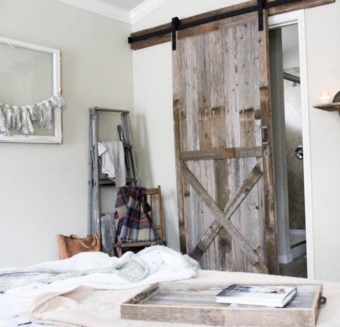 Farmhouse-Style Sliding Barn Door