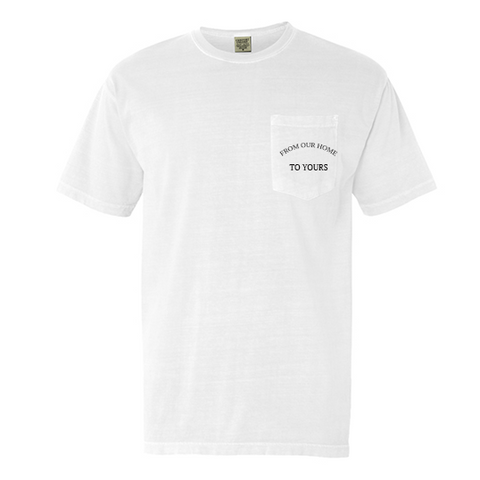 SOLD OUT: Unisex Pocket Tee - White